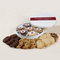 Soozies Doozies Soft & Rich Cookie Gift Tin. 21 Fresh Baked Cookies for All Occasions.