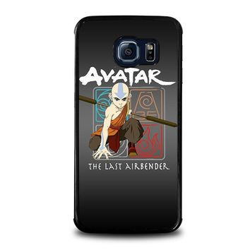 avatar last airbender samsung galaxy s6 edge case cover  number 1