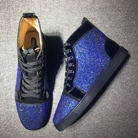 Christian Louboutin Cl Louis Orlato Men's Flat - Best Online Sale