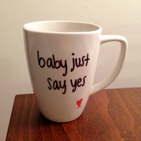"Taylor Swift ""Love Story"" lyric mug"