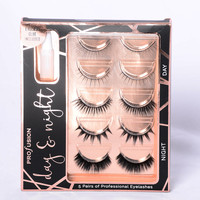 Profusion Cosmetics: Day & Night Faux Lashes - Black