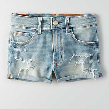 AEO Hi-Rise Cheeky , Slashed Sky