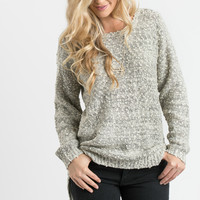 Abigail Heather Grey Pullover Sweater