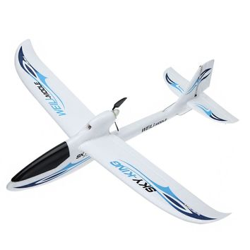 Wltoys F959 lights SKY-King 2.4G 3CH Radio Control RC RTF Throwing Flight Airplane EPO Aircraft