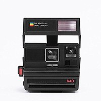 Impossible Polaroid 600 Square Black Camera