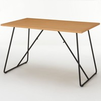 Oak Foldable Table 120cm