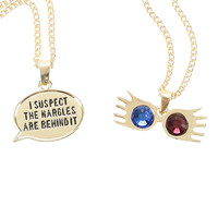 Harry Potter Luna Lovegood Spectrespecs Necklace Set
