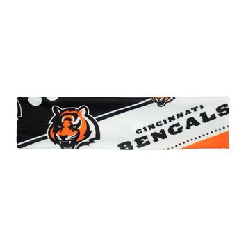 NFL Cincinnati Bengals Stretch Headband Womens Ladies  NFL Team Apparel