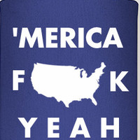 merica coozies, american love, party coozies, fourth of july parties, party favor coozies, independence day, fun coozies, gifts, america