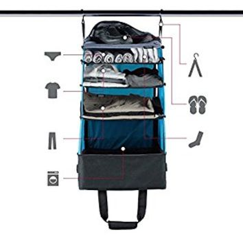Portable Shelving Luggage, Rise Gear Jumper, Blue