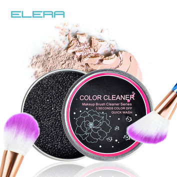 Makeup Brush Cleaner Sponge Remover Color From Brush Eyeshadow Sponge Tool Cleaner