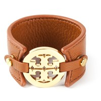 Tory Burch logo disc cuff