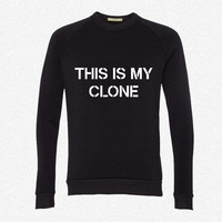 This is my clone fleece crewneck sweatshirt