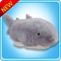 Pillow Pets®  Folding Plush :: Sharky Shark - My Pillow Pets® | The Official Home of Pillow Pets®