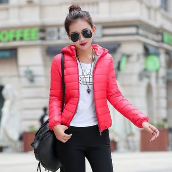 Fashion Winter Women Down Jacket coat