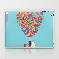 Up Laptop & iPad Skin by lovemi | Society6