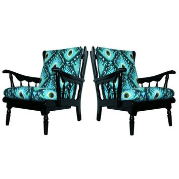 Pre-owned Mid-Century Lounge Chairs - A Pair