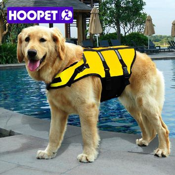 Big Large Dog life jacket safety vest surfing swimming dog clothes for summer vacation Oxford Breathable Mesh bulldog XXL