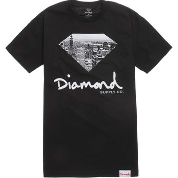 Diamond Supply Co Big City Fill T-Shirt - Mens Tee