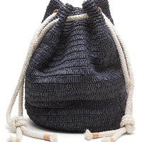 Banana Republic Straw Beach Bag Size One Size - Navy