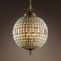 19th C. Casbah Crystal Chandelier Medium | Chandeliers | Restoration Hardware