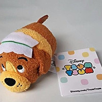 "New Disney Store Mini 3.5"" (S) Tsum Tsum NANA THE DOG (Peter Pan Collection)"