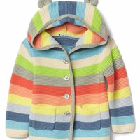 Stripe bear garter sweater | Gap
