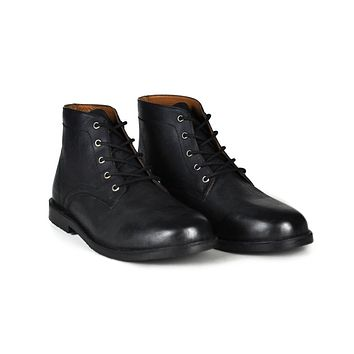 Men's The Grover | Black Leather Boot