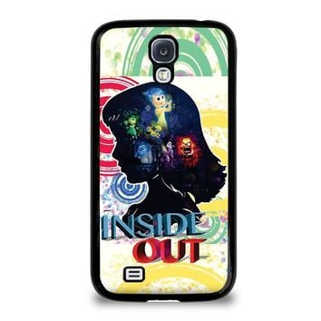 inside out movie disney samsung galaxy s4 case cover  number 1