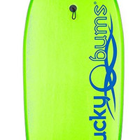 Lucky Bums Body Board - Durable and Buoyant Boogie Board with EPS Core Slick ...