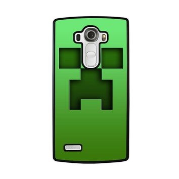 CREEPER MINECRAFT LG G4 Case Cover