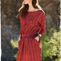 Tashkent Silk Dress - Dresses