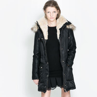 COMBINATION JACKET - Coats - TRF | ZARA United States