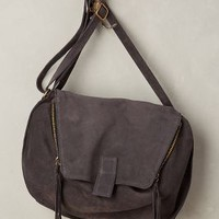 MTNG Originals Double-Zip Suede Crossbody Bag