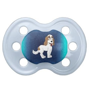 Dog cartoon pacifier