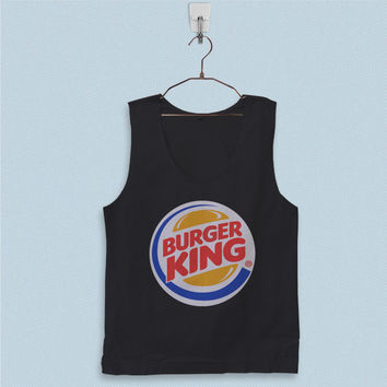 Men's Basic Tank Top - Burger King Logo