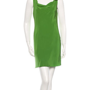 Tibi Designer Silk Dress