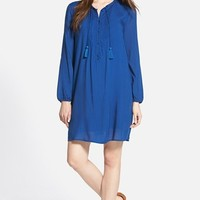 Women's Lucky Brand Pintuck Pleat Shift Dress,
