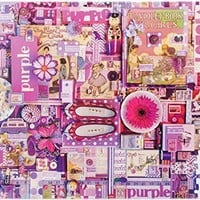 COBBLE HILL Purple Jigsaw Puzzle (1000 Piece)