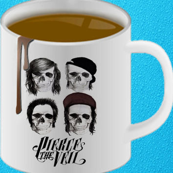 pierce the veil mug heppy coffee.