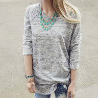 Heathered Cozy Tee