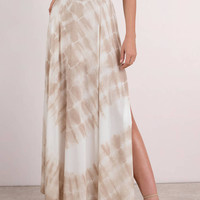 Give It A Tie Dye Maxi Skirt