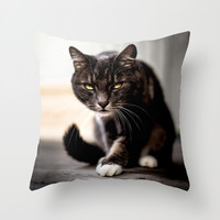 Females Throw Pillow by HappyMelvin