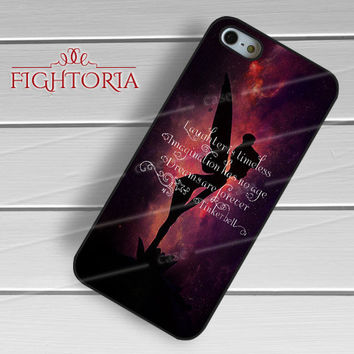 Disney Tinkerbell Fairies Quotes w Silhouette -swn for iPhone 4/4S/5/5S/5C/6/6+,samsung S3/S4/S5/S6 Regular/S6 Edge,samsung note 3/4