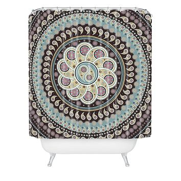 Belle13 Mandala Paisley Shower Curtain