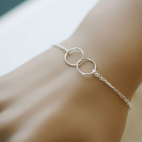 Best Friends BraceletCircle BraceletEternity love by tydesign