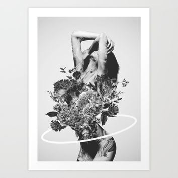 Be Slowly Art Print by Daniel Taylor