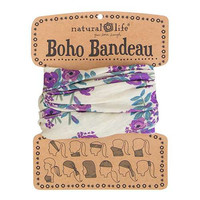 Natural Life Cream Blooms Boho Bandeau