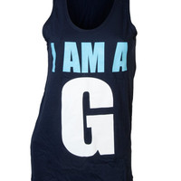 Adam Block Design  » Gamma Phi Beta G Tank