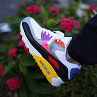 "Air Max 90 ""BETRUE"" White/Multi Color-Black-Wolf Grey"